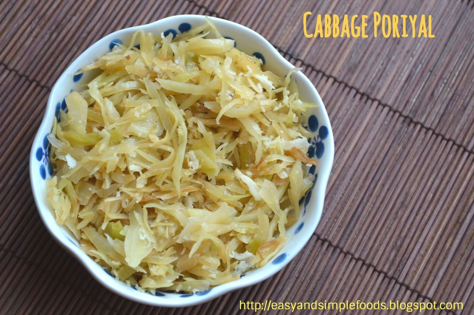 Easy and simple foods tip to remember while cooking cabbagethis veggie itself has lots of water in it we dont have to add extra water to cook this just need to cover the pan forumfinder Choice Image
