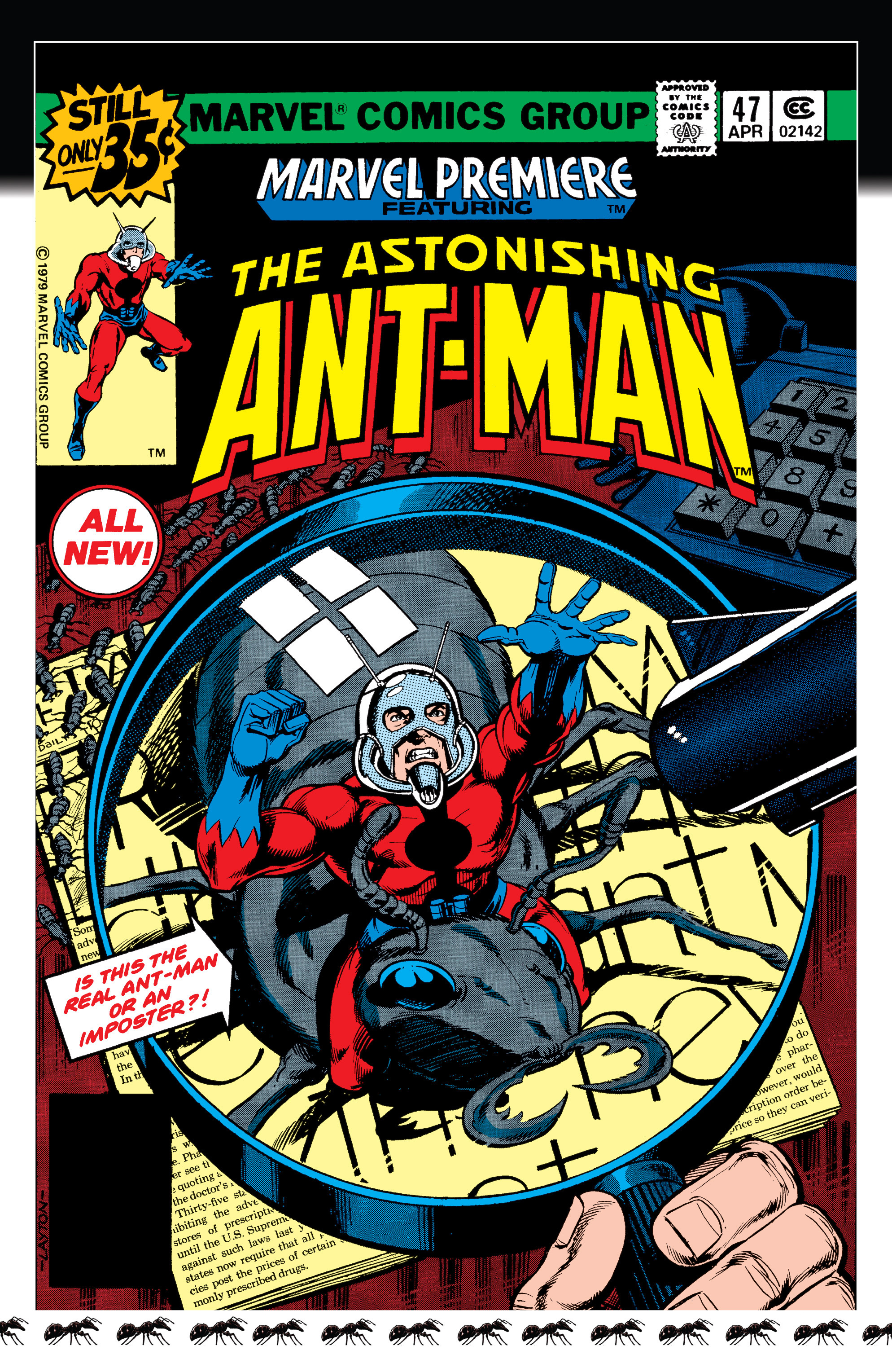Read online Ant-Man comic -  Issue #Ant-Man _TPB - 4
