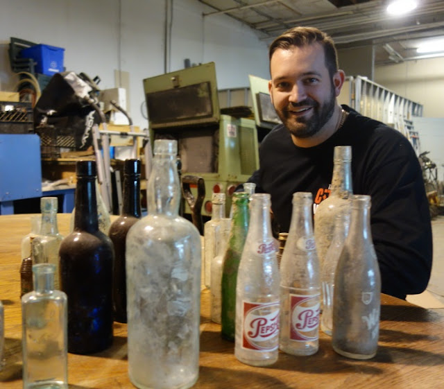 Chris Cavan, bottle digger, Toronto basement waterproofer