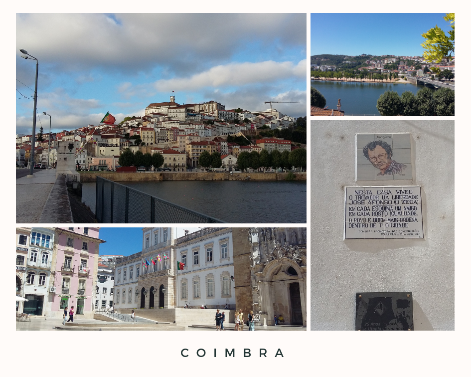 3 Places to visit - Coimbra Portugal
