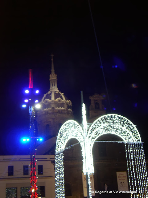 Clermont-Ferrand, illuminations Noêl 2013