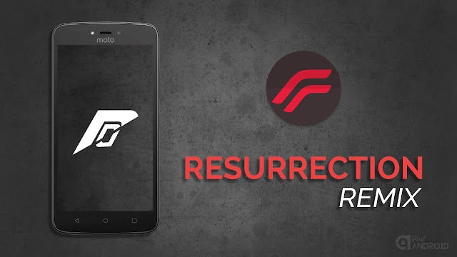 Resurrection Remix Nougat Moto C / Moto C Plus