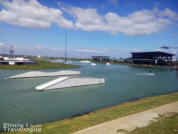 Arena for exprrienced wakeboarders