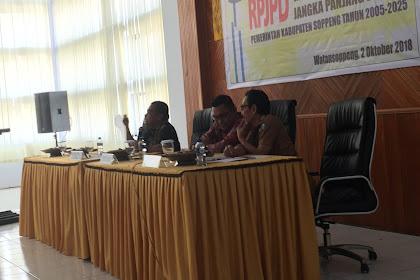 Konsultasi Publik Rancangan Awal Perubahan RPJP Soppeng