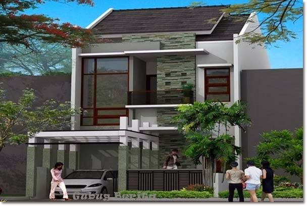 Gambar Desain Rumah Minimalis Tingkat Dua HOT GOSIP TERBARU
