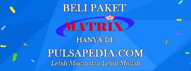 Cara Isi Voucher Matrix Garuda Online