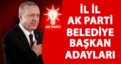 akp belediye başkan adayları