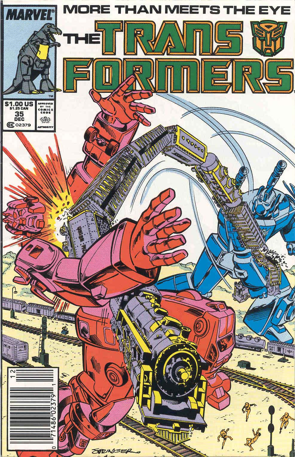 The Transformers (1984) 35 Page 1