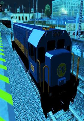 Free Download G.E U18C (Cab Forward) (P.N.R Blue-Orange Stripe 2012 Livery) Mod for GTA San Andreas.
