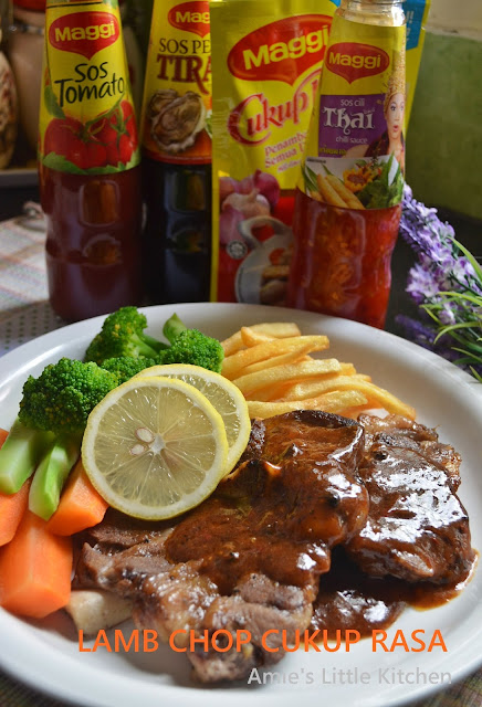 Amie S Little Kitchen Lamb Chop Cukup Rasa