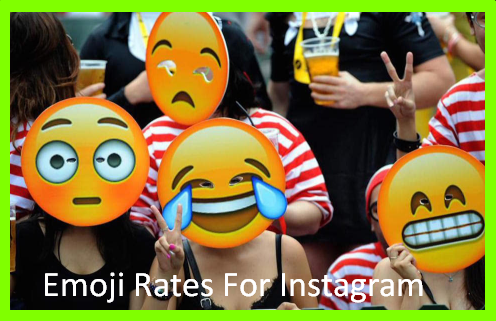 Emoji Rates For Instagram