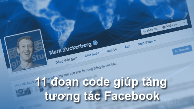 Share 11 đoạn code giúp tăng tương tác Facebook