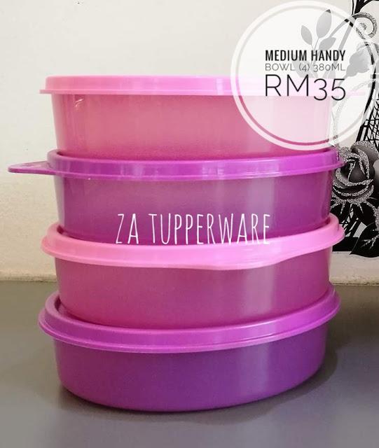 Tupperware Medium Handy Bowl (4) 380ml