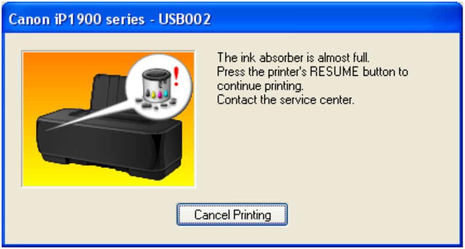 Cara Reset Printer Canon iP1980