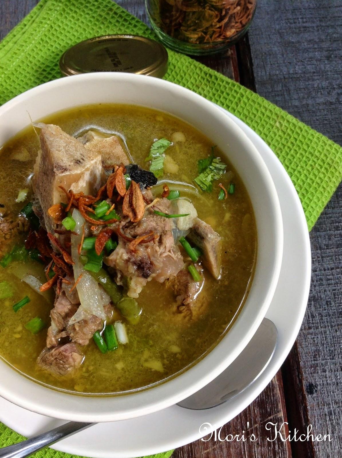 masak sop tulang siti Resepi Sup Tulang Ala Thai Noxxa Enak dan Mudah