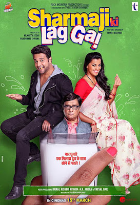 Poster Sharma ji ki lag gayi 2019 Hindi HD 720p