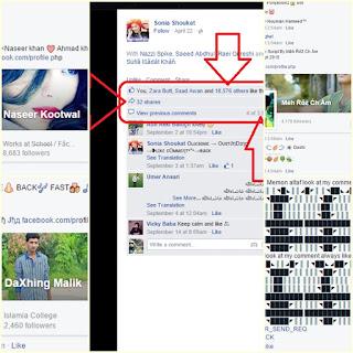 facebook botter