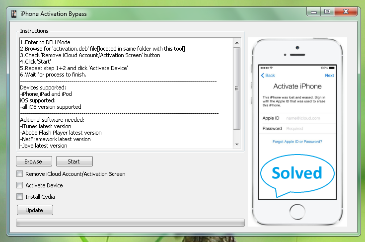 Remove iCloud Account from iPhone 5S 5C 5 4S 4