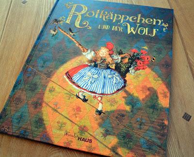 """""""Rotkäppchen und der Wolf"""" von Brüder Grimm und Anton Lomaev, Kinderbuch"""