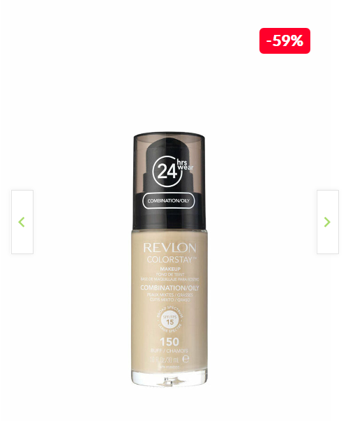Fond de ten Colorstay pentru ten mixt-gras, 150 Buff, 30 ml REVLON