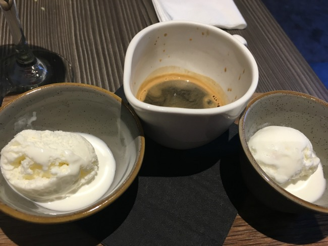Jolyons-Number-10-Cathedral-road-cardiff-pre-theatre-supper-review-affogato