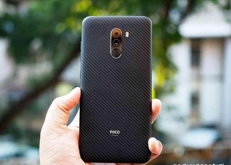 The Xiaomi POCO F1 Back