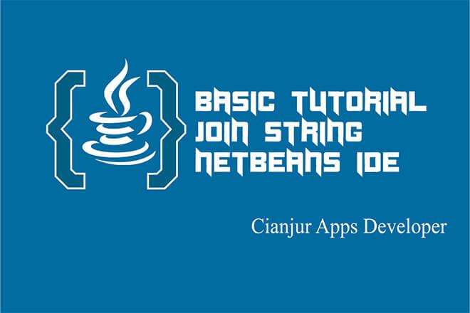 Belajar Menggunakan Fungsi join String pada Java