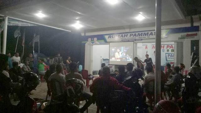 Dukung Yoanna di Liga Dangdut Indosiar, Tim PAMMASE Gelar Nobar