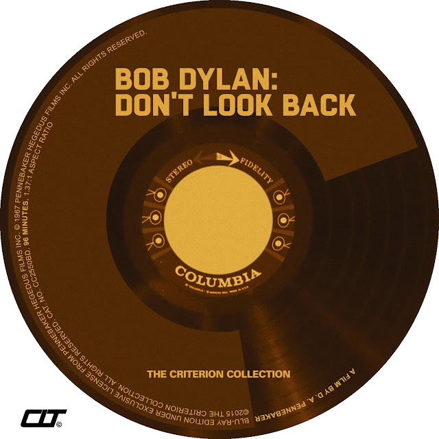 Bob Dylan Don't Look Back Bluray Label