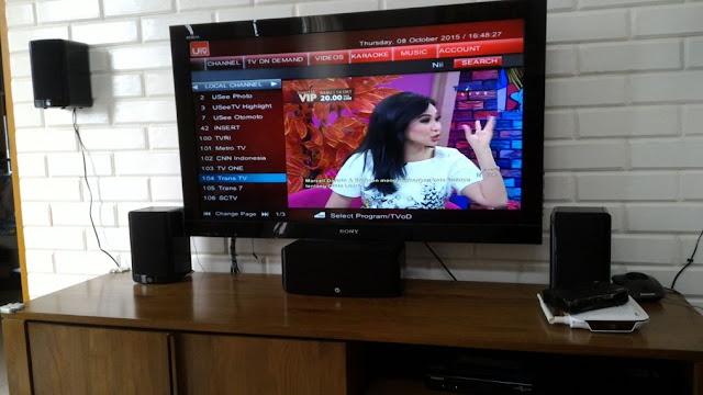 Bekerja Di Ruangan MDF Dan Memasang Usee TV Pada Client - Gateway Ilmu
