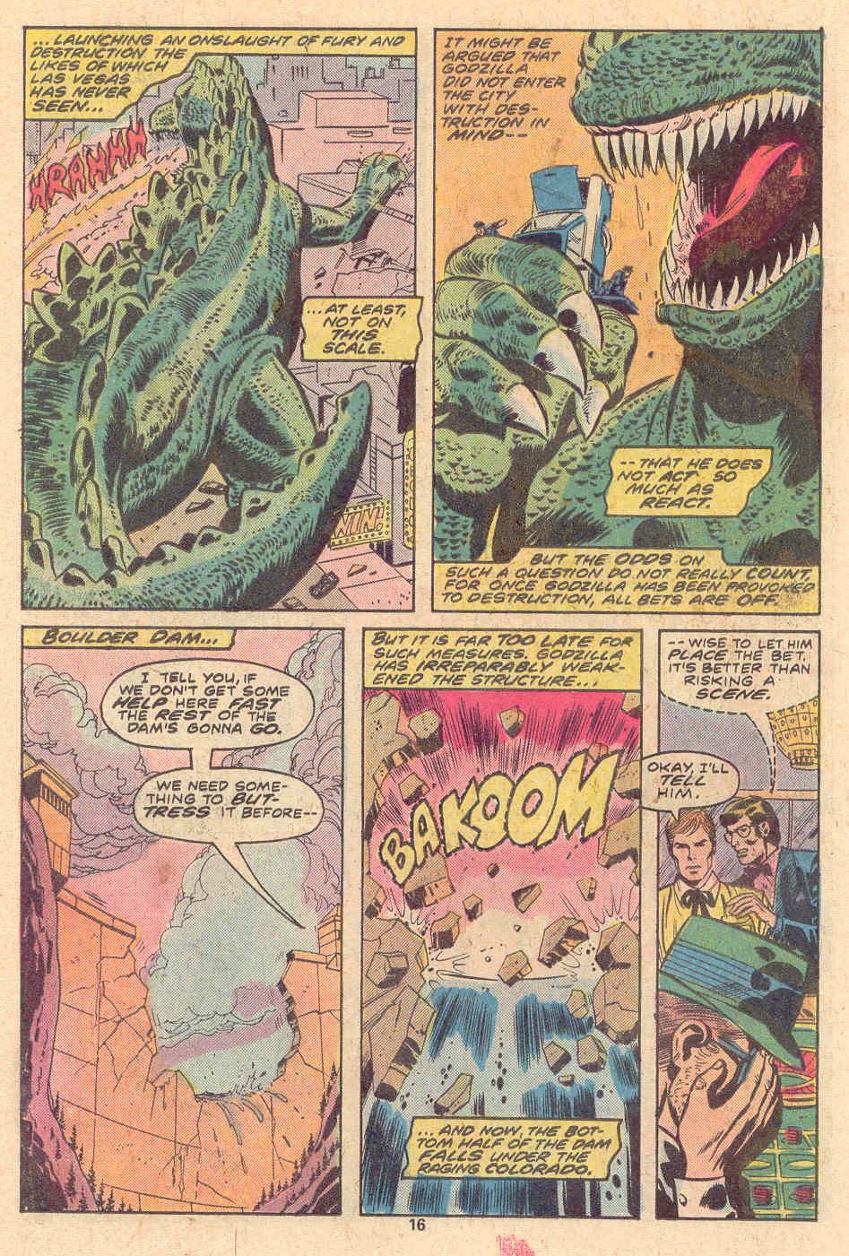 Godzilla (1977) Issue #9 #9 - English 11