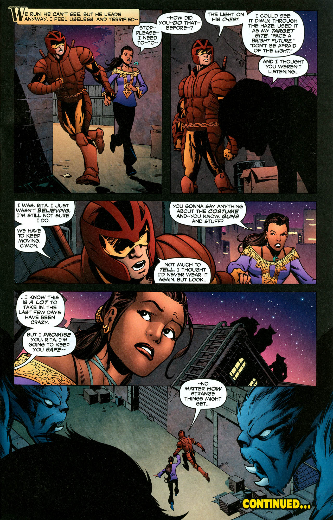 Read online Trinity (2008) comic -  Issue #5 - 32