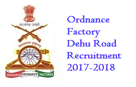 Ordnance Factory Dehu Road Recruitment