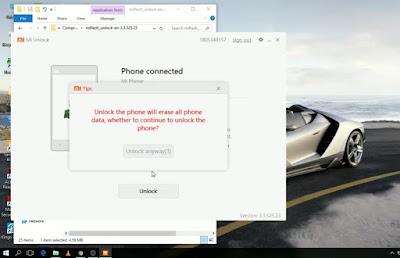 Cara Terbaru Unlock Bootloader Xiaomi 29