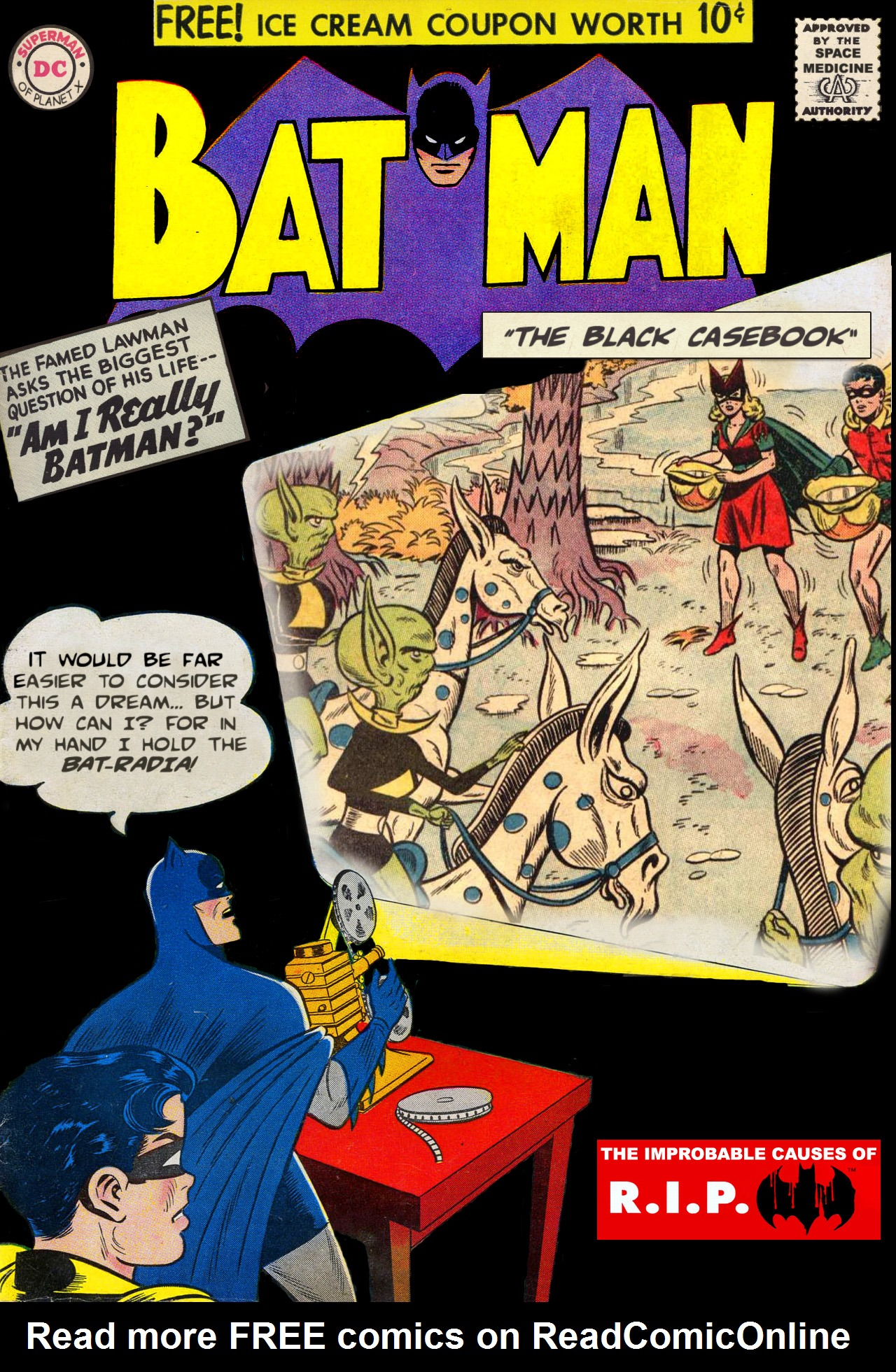Read online Batman: The Black Casebook comic -  Issue # TPB - 2