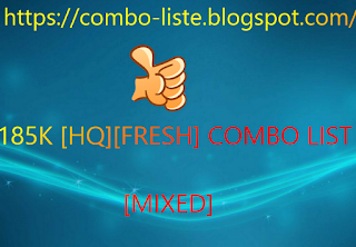185K [HQ][FRESH] COMBO LIST [MIXED]