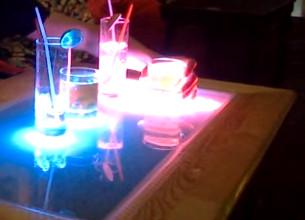 Làm bàn led cảm ứng