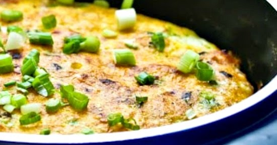 ... Kitchen®: Frittata with Canadian Bacon, Green Onions, and Cheese