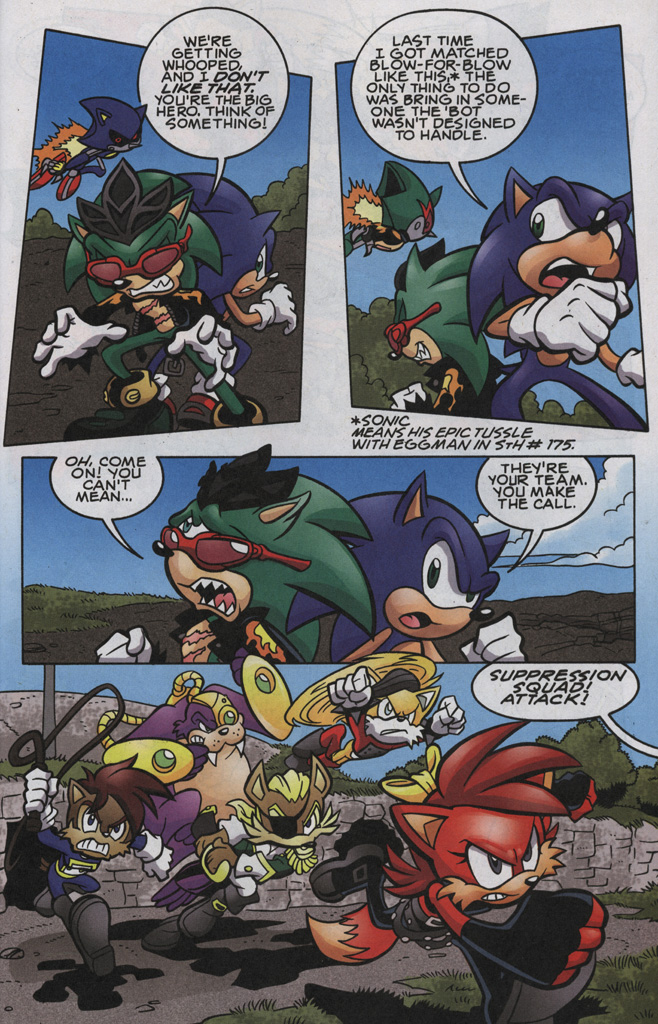 Read online Sonic The Hedgehog comic -  Issue #192 - 16
