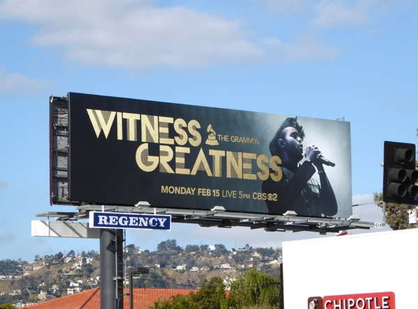 Grammys Witness Greatness Weeknd billboard