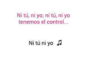 Jennifer Lopez Gente De Zona Ni Tú Ni Yo significado de la canción.