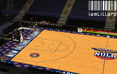 NBA 2K13 New Orleans Pelicans Fictional Court Update