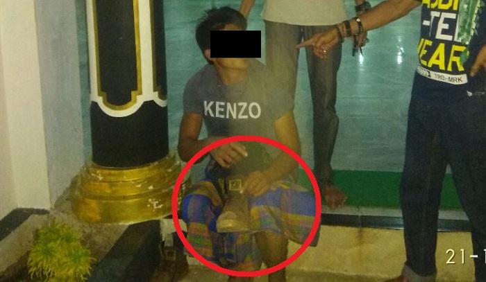2 orang Ditahan Polres Sekadau, Diduga Ingin Mencuri Tong Amal Masjid Al Falah