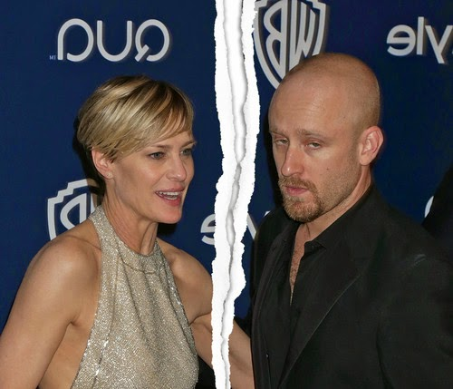 Separated! Robin Wright broke off his engagement with Ben