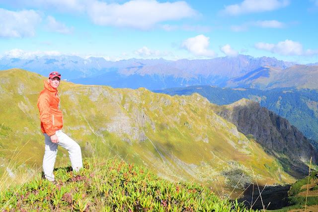 Хребет Аибга, Сочи, Активный отдых, Роза Хутор, Красная поляна, фото Андрей Думчев