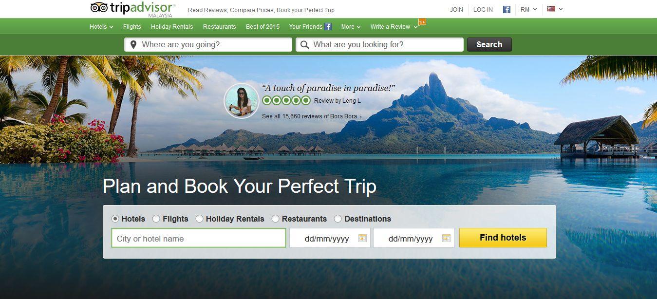 Top 10 best travel sites