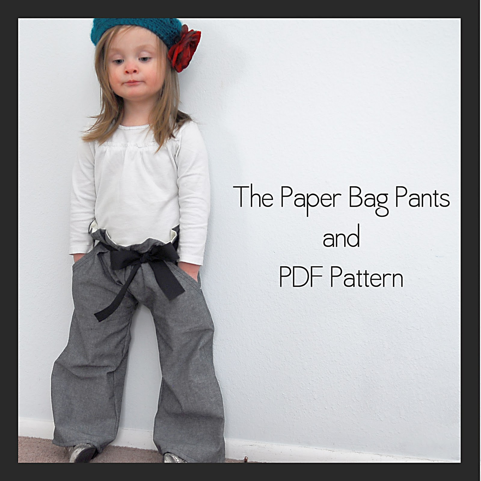 655bba120e99b Paper Bag Pants {Free PDF Pattern} - Shwin and Shwin