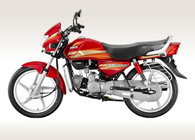 Hero HF Deluxe 100 cc bike Hd Image