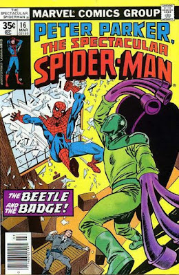 Spectacular Spider-Man #16, the Beetle