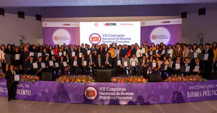 MINEDU: Ministerio de Educación reconoció a maestros de regiones por mejorar aprendizaje de estudiantes - www.minedu.gob.pe